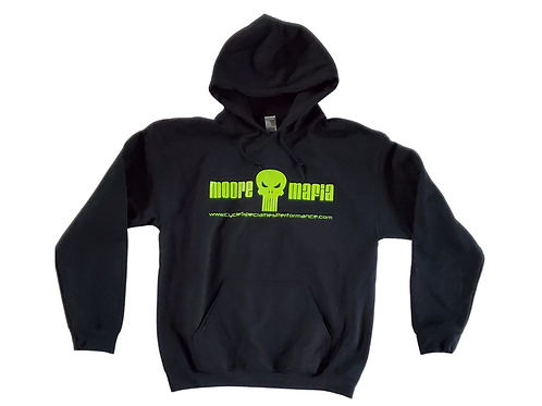 """Moore Mafia"" Hoodie, Highlighter Yellow"