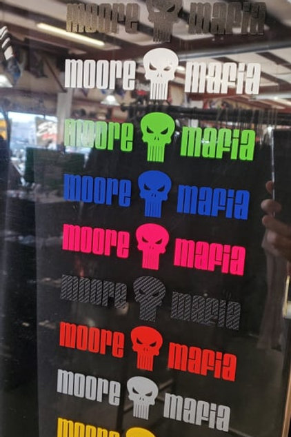 Moore Mafia Sticker