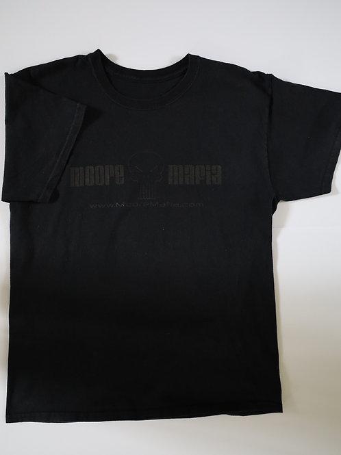 """Moore Mafia"" Short Sleeve Tee, Blacked Out"