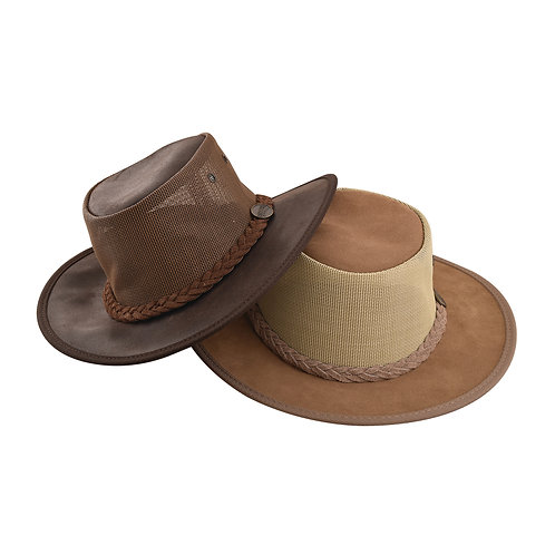 כובע בוקרים  עור משומן