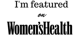 I'm featured on Women'sHealthMag.com