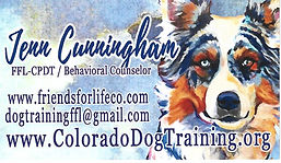 Link to Jenn Cunningham, fine artist and dog trainer, Friends for Life