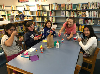 Craft Day in the Library!