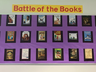 Monarch's First Ever Virtual Battle of the Books!!