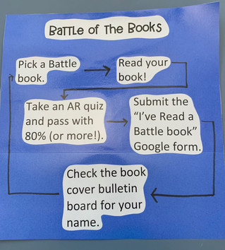 Battle of the Books is starting!
