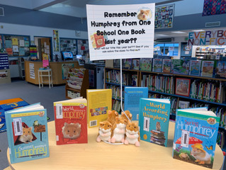 One School One Book - What Will Our Book Be This Year???