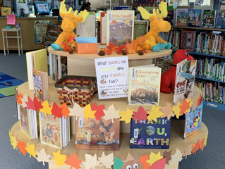 Books We Are Thankful For!