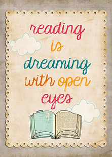 reading is dreaming with eyes open quote