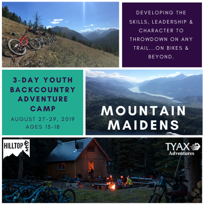Mountain Maidens 3-Day Backcountry Camp