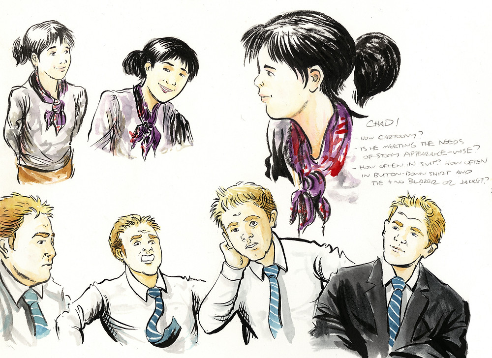 comics and graphic novel character design how-to