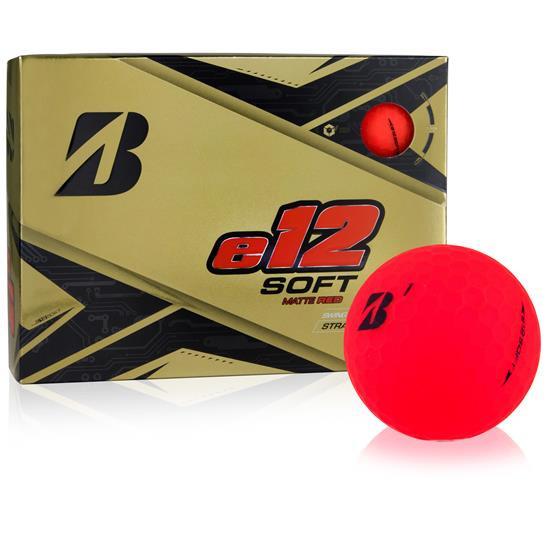 Bridgestone-e12-Soft-Matte-Red-Golf-Ball