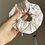 Thumbnail: Zipper Pocket Scrunchie -Golden Marble