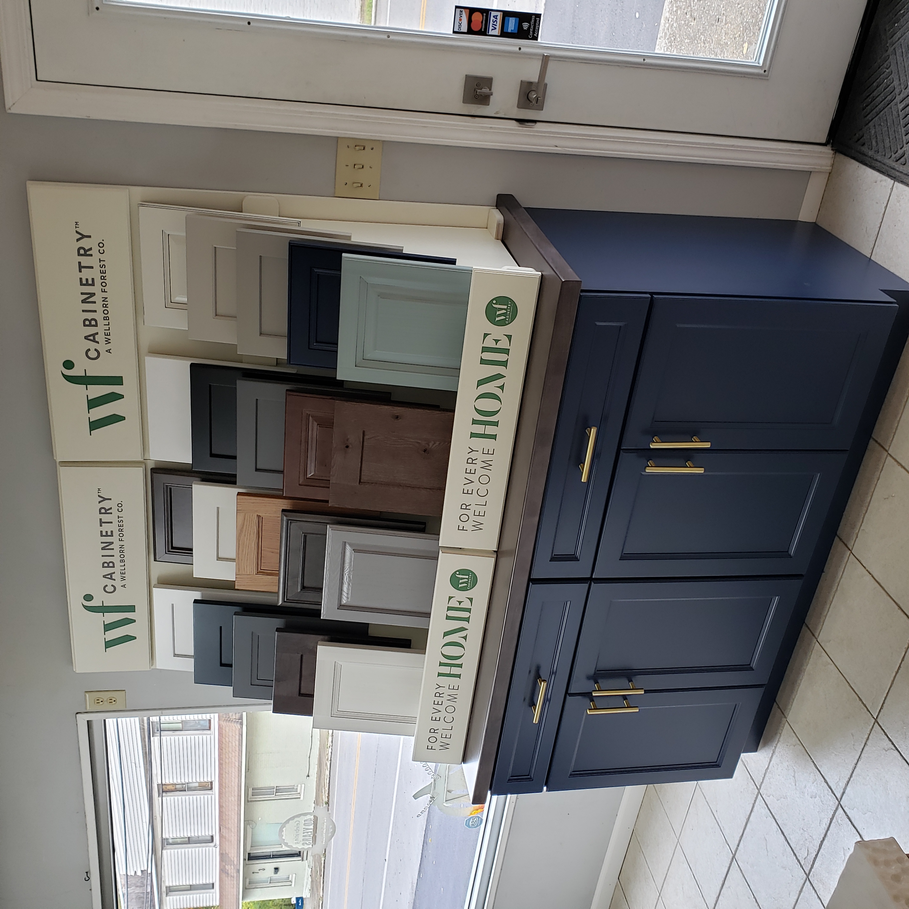 WF Cabinetry Selection Center