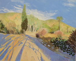 Late Afternoon, Echo Mountain, 2014