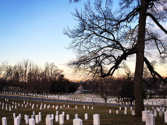 Arlington At Sunset