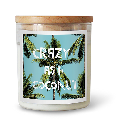 Crazy As A Coconut Soy Candle