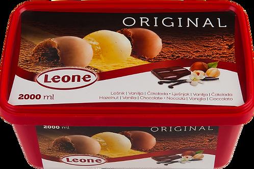 Leone Original Hazelnut Vanilla Chocolate Ice Cream