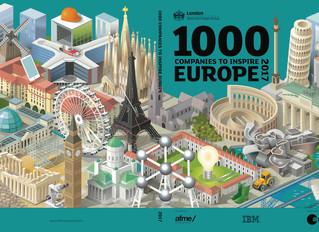 Incom na seznamu podjetij, ki so navdih Evropi