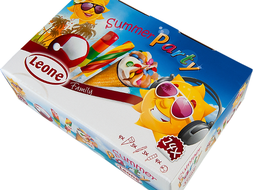 Leone Summer Party Ice Cream Mix Pack