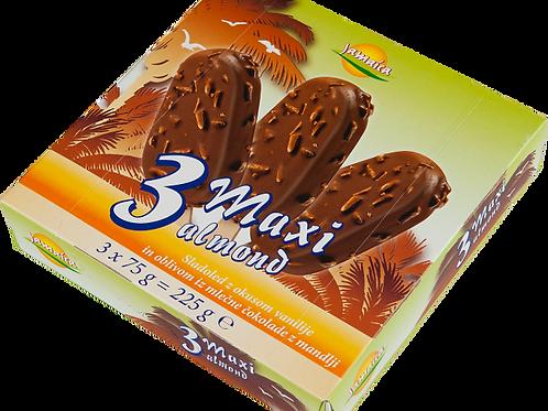 Jamaica 3 Maxi Almond ice cream sticks