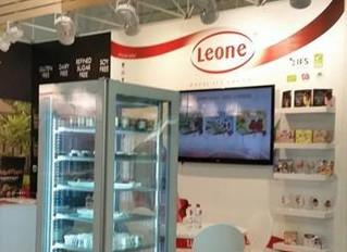Leone navduševal na mednarodnem sejmu Anuga