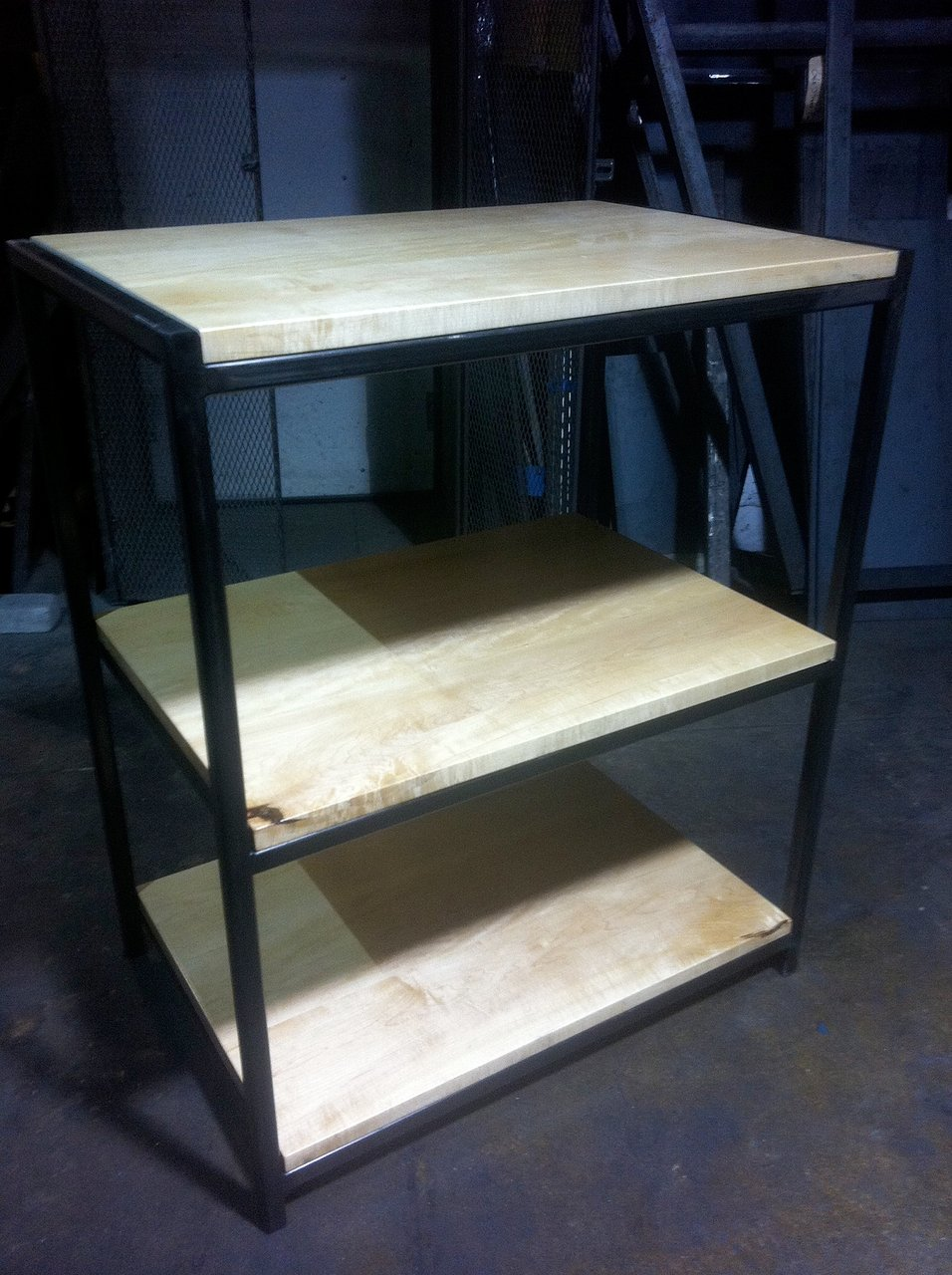 maple shelf unit