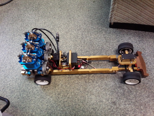 空気エンジンカー