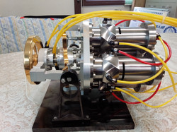 DA型空気エンジンモデル