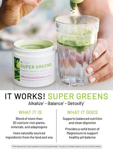 Super Greens, Emf, Detox, 5g protection,