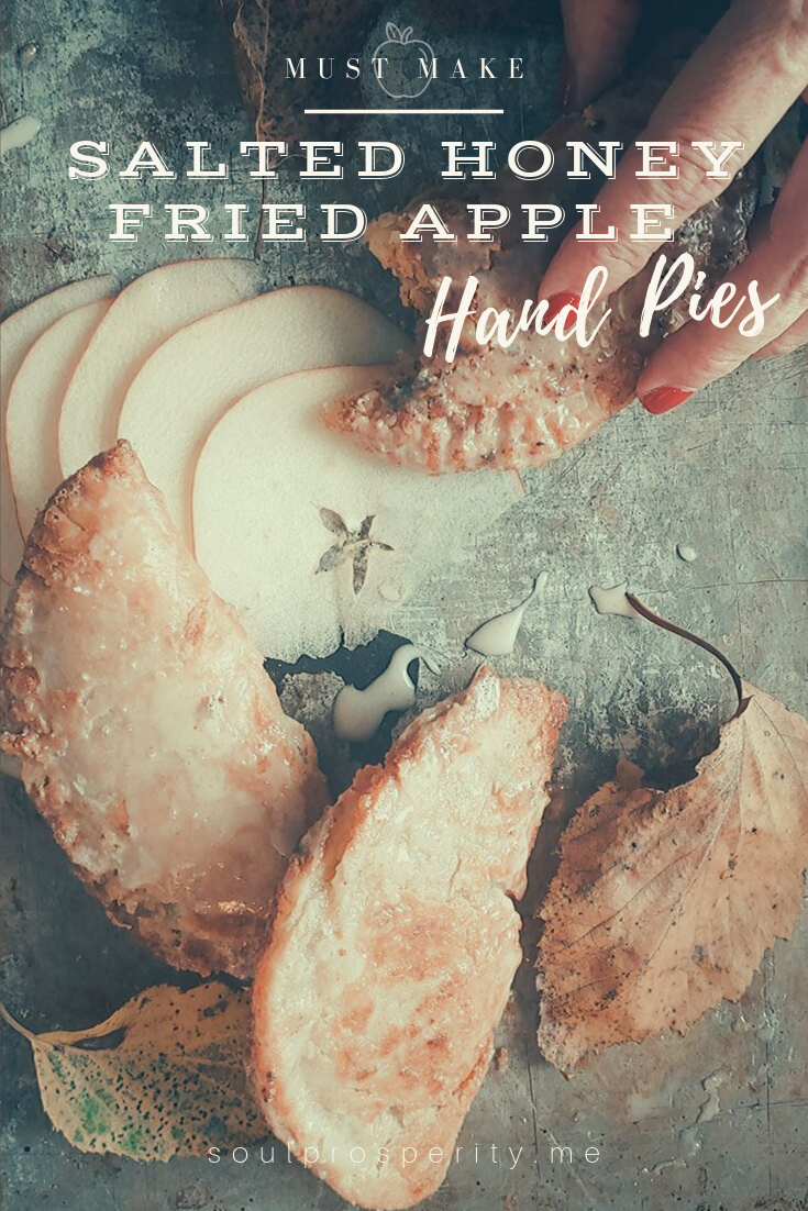 Salted Honey Fried Apple Hand Pies