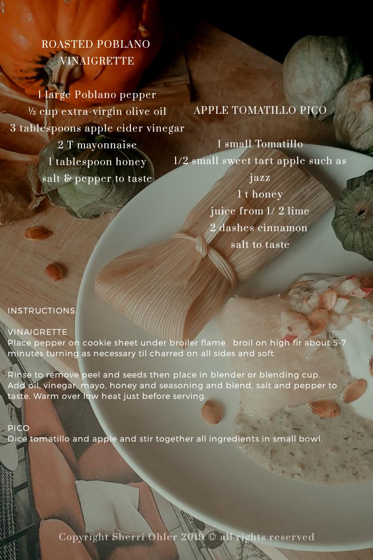 Pumpkin Spice Tamales