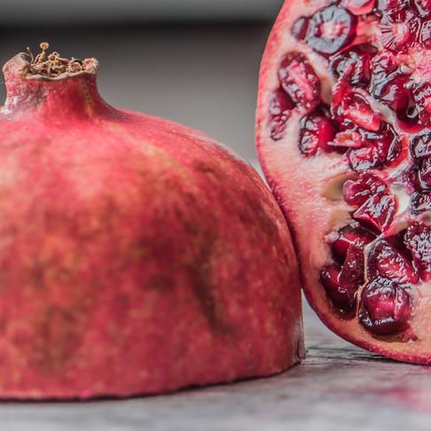 Fizzy Pomegranate Slushy with Collagen
