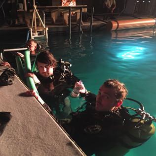 underwater brake