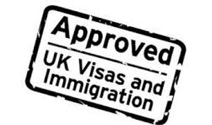 Approved UK VISA