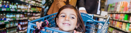 Access and parenting time - Child in shopping cart