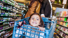 Carritos de supermercado más sucios que baños públicos