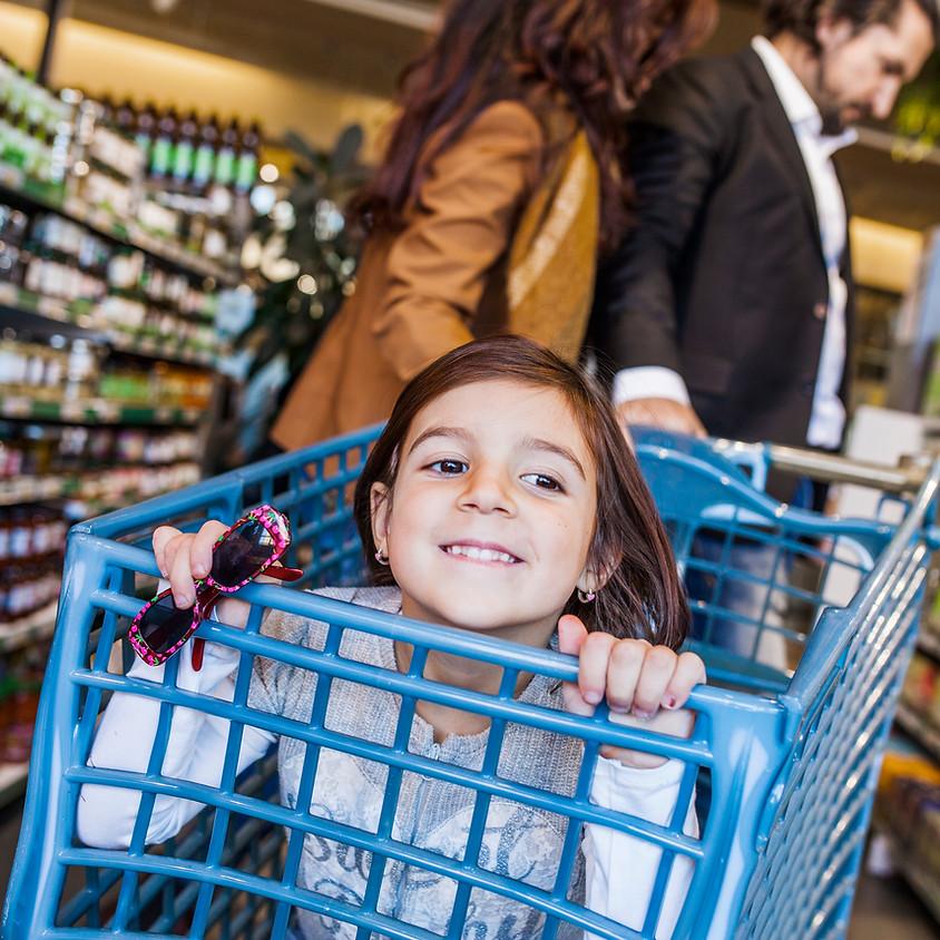 Visite d'un supermarché