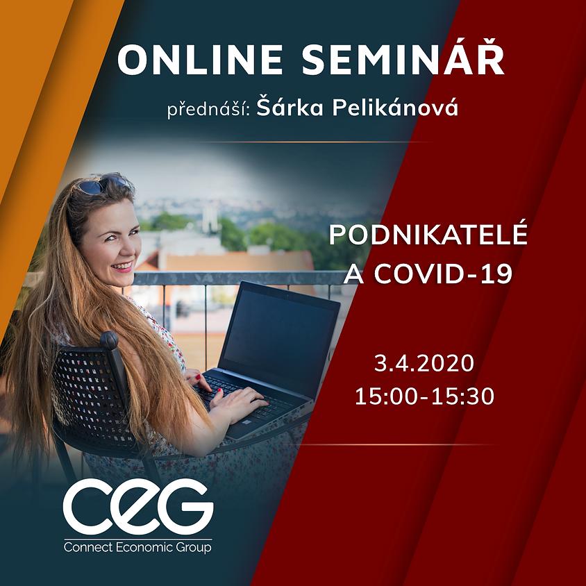 Online seminář: Podnikatelé a COVID-19