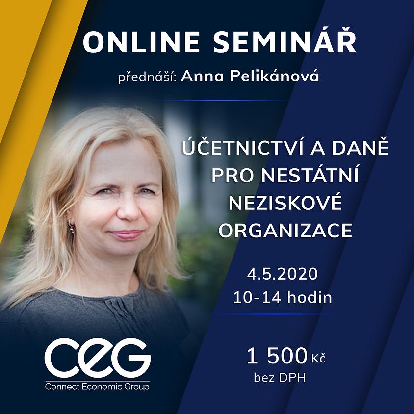 Online seminář: Účetnictví a daně pro nestátní neziskové organizace (1)
