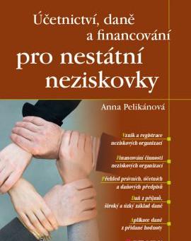 Vyšla kniha Účetnictví, daně a financování pro nestátní neziskovky