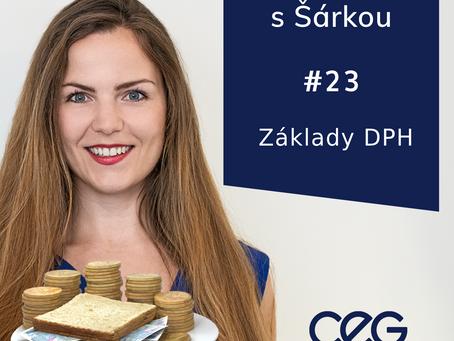 Podcast SníDANĚ s Šárkou: DPH pod drobnohledem