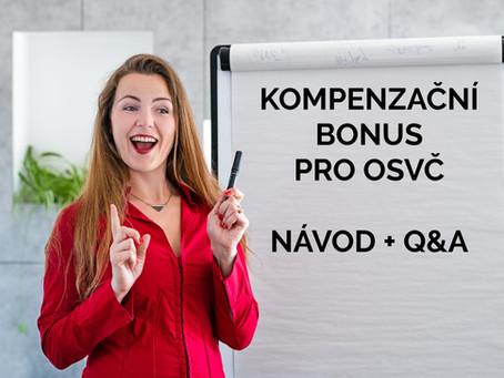 Kompenzační bonus pro OSVČ 25 000 Kč