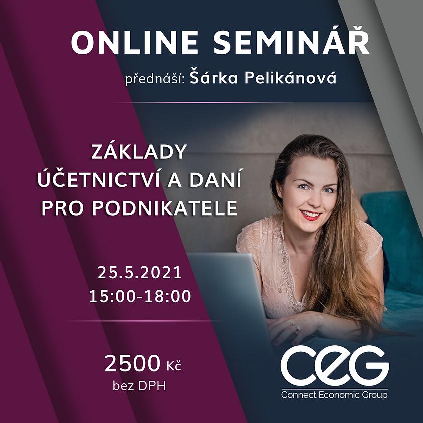 Online seminář: Základy účetnictví a daní pro podnikatele