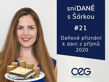 Podcast SníDANĚ s Šárkou: Daňové přiznání 2020 - Tomáš Navrátil