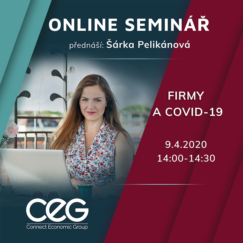 Online seminář: Firmy a COVID-19