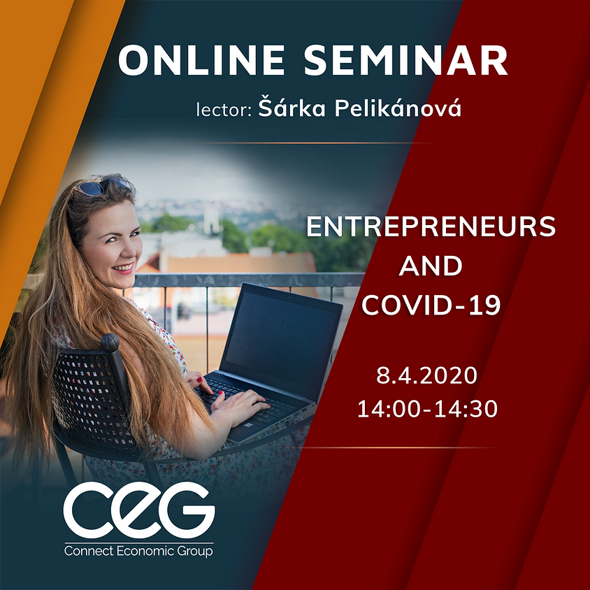 Online seminar: Entrepreneurs and COVID-19 in English