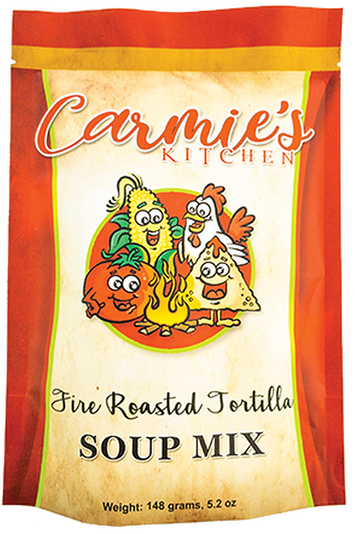 Carmie's Kitchen Fire Roasted Tortilla Soup Mix