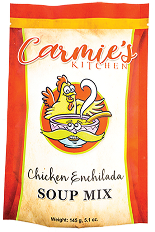 Carmie's Kitchen Chicken Enchilada Soup Mix