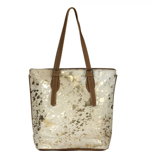 Tinges Leather Tote