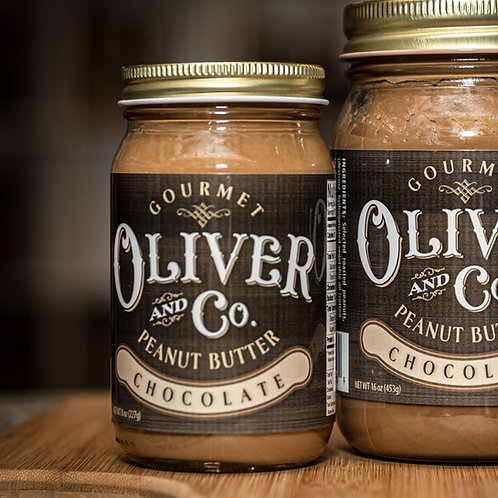 Gourmet Oliver and Co. Peanut Butter - 8 oz